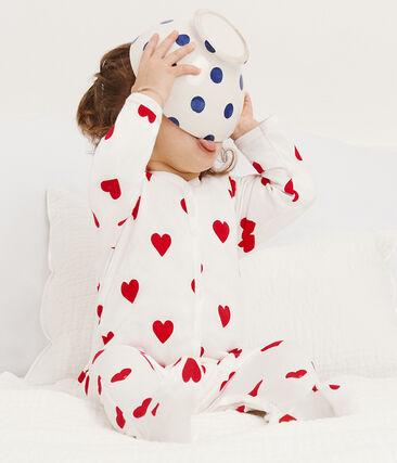 Pijama de muletón para bebé niña