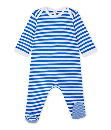 Pijama de rayas para bebé niño