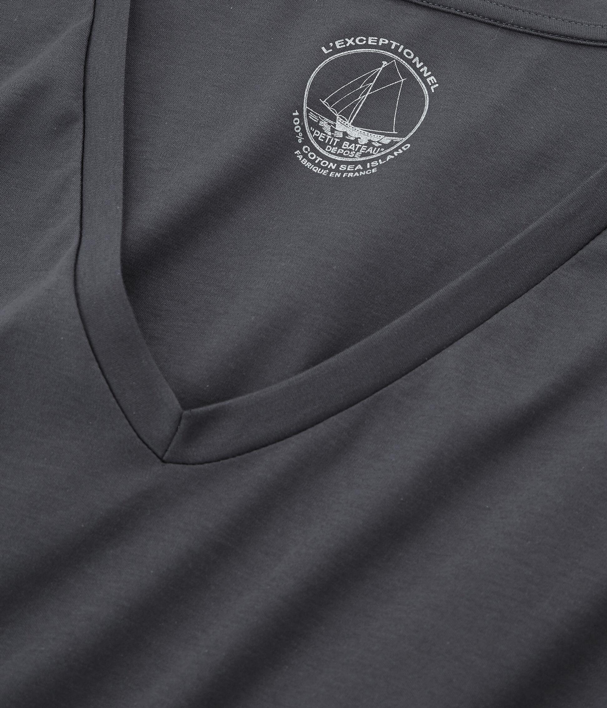 Para De Sea Bateau Camiseta Algodón MujerPetit Manga Larga Island dBeCxor