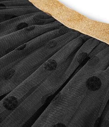 Falda de tul para niña gris Capecod