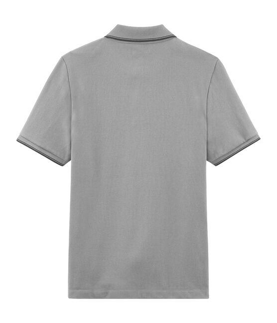 Polo manga corta para hombre gris Beluga Chine