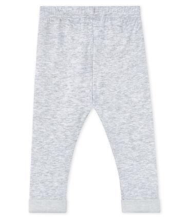 Pantalón para bebé niño gris Poussiere / blanco Lait