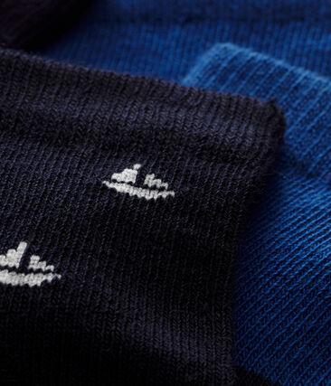 Lote de 2 pares de calcetines para bebé niño lote .