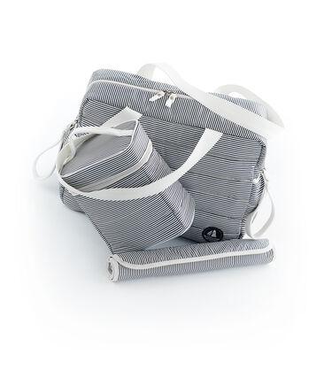 Juego que se compone de 1 bolso, 1 bolsa isotérmica y 1 cambiador de nylon. lote .