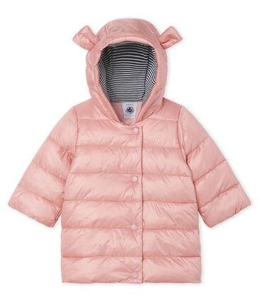 Plumas de poliamida satinada para bebé niña rosa Fleur