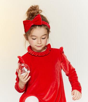 Cinta infantil para niña rojo Terkuit