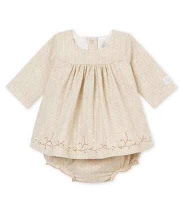 Vestido bloomer para niña
