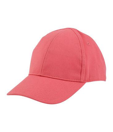 Gorra infantil unisex rosa Groseiller