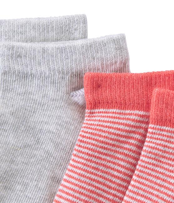 Lote de 2 pares de calcetines cortos para niño lote .