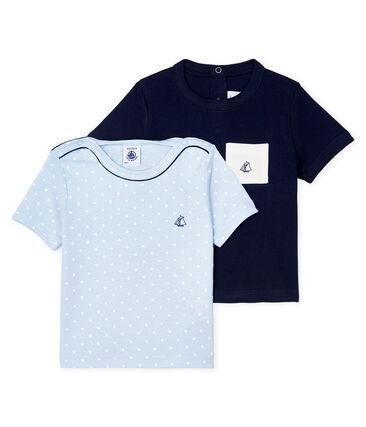 Juego de 2 camisetas para bebé niño lote .