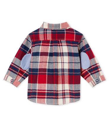 Camisa a cuadros para bebé niño
