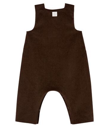 Peto de pana para bebé niño