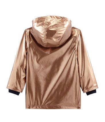 Impermeable infantil para niña rosa Copper