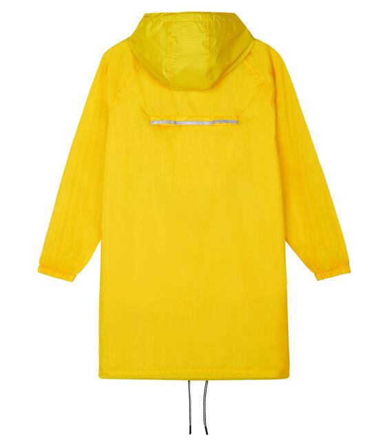Cortavientos largo para mujer amarillo Shine
