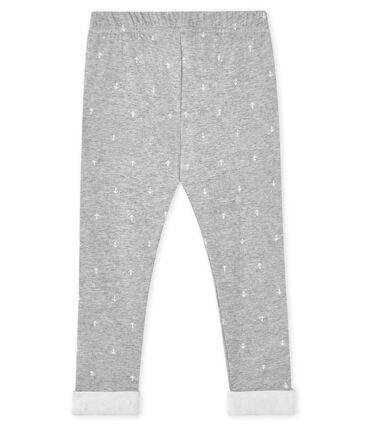 Pantalón para bebé niño gris Subway / blanco Marshmallow