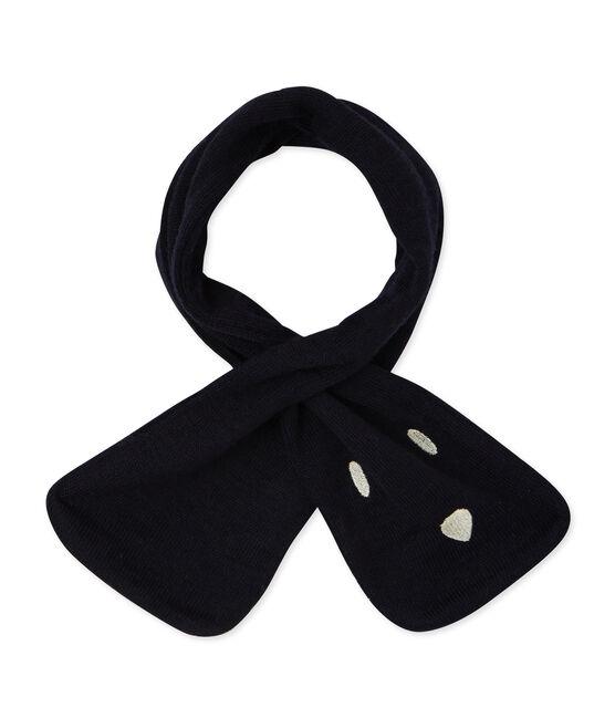 Bufanda para bebé unisex azul Smoking