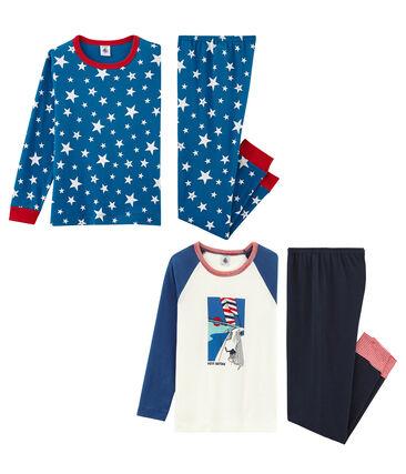 Lote de 2 pijamas para niño pequeño