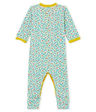 Pelele de punto para bebé niña blanco Marshmallow / blanco Multico