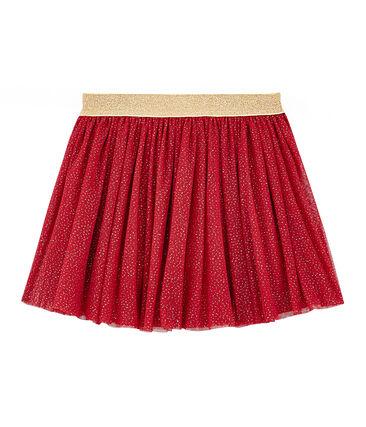 Falda de tul para niña