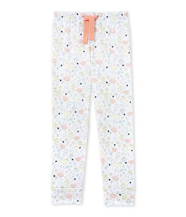 Pantalón de pijama combinable para niña