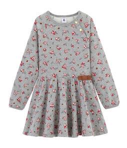 Vestido estampado para niña
