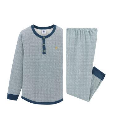 Pijama de tela túbica para niño