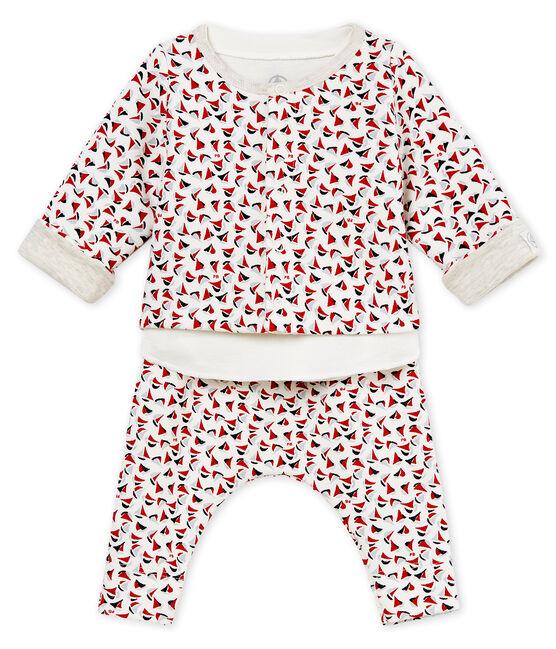 Conjunto 3 piezas estampado para bebé niño lote .