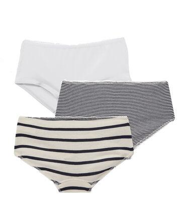 Tres culottes para chica