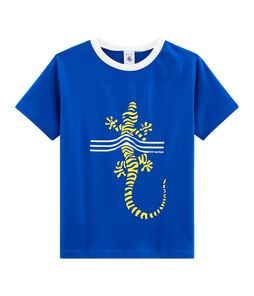 Camiseta de niño azul Surf
