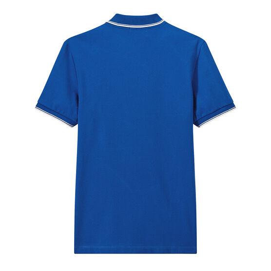 Polo manga corta para hombre azul Riyadh