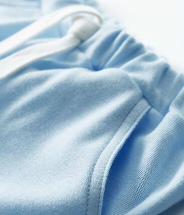 Pantalón corto de malla para bebé niño azul Fraicheur