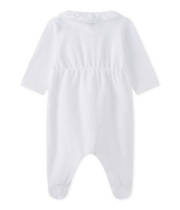 Pijama de terciopelo bebé niña