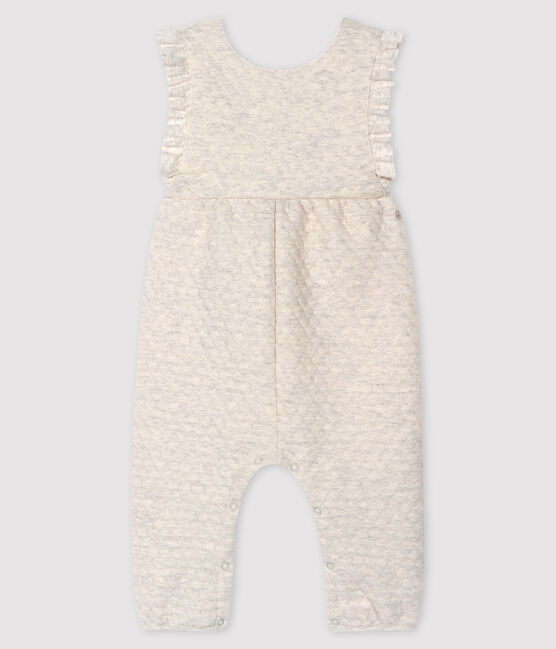 Peto largo para bebé niña gris Montelimar Chine