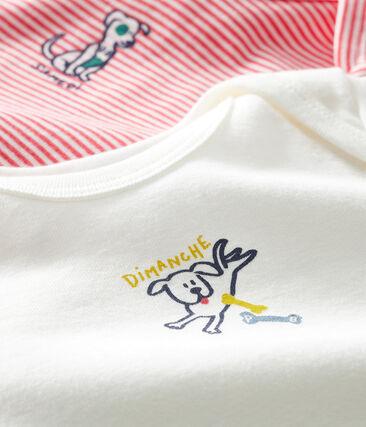 Dúo de bodis de manga larga para bebé niño lote .