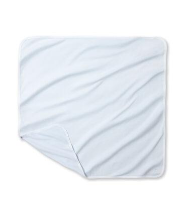 Baby's milleraies striped sheets azul Fraicheur / blanco Ecume