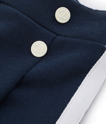 Pantalón infantil para niña azul Haddock