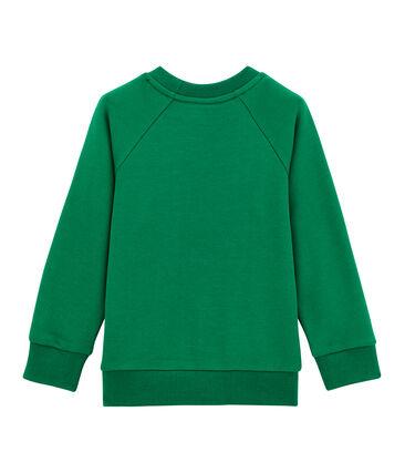 Sudadera para niño verde Pivert
