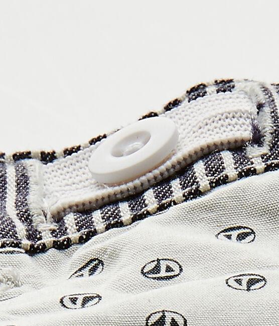 Pantalón de bebé niño a rayas azul Smoking / blanco Marshmallow