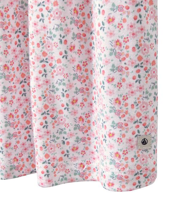 Camisón bordado estampado para niña blanco Ecume / blanco Multico