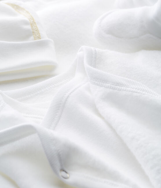 Caja de regalo para recién nacido de tejido de rizo raspado lote .