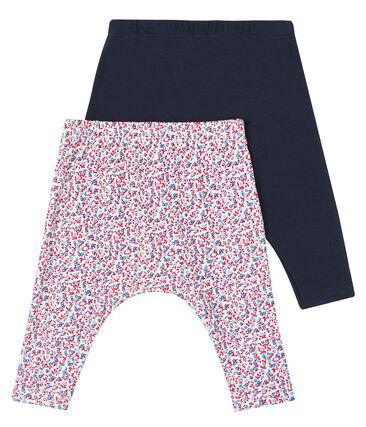 Lote sorpresa de 2 leggings para bebé niña lote .