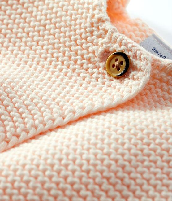 Cárdigan para bebé de punto 100 % algodón FLEUR