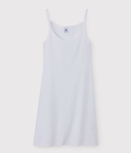 Vestido de tirantes para mujer blanco Ecume