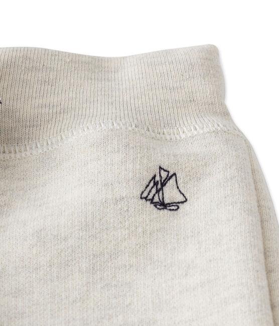 Pantalón de jogging de bebé niño en muletón gris Montelimar Chine