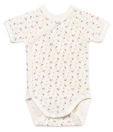 Body de nacimiento manga corta para bebé niña