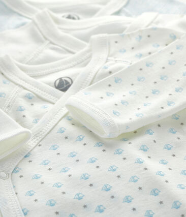 Tres bodis de nacimiento de manga larga para bebé lote .