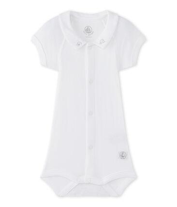 Body para bebé niño con cuello blanco Ecume