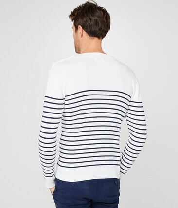 Jersey azul marino para hombre