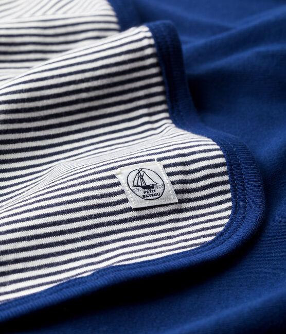 Manta antiondas azul Smoking / blanco Ecume