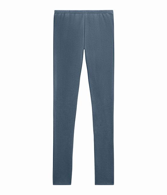 Legging largo para mujer azul Turquin